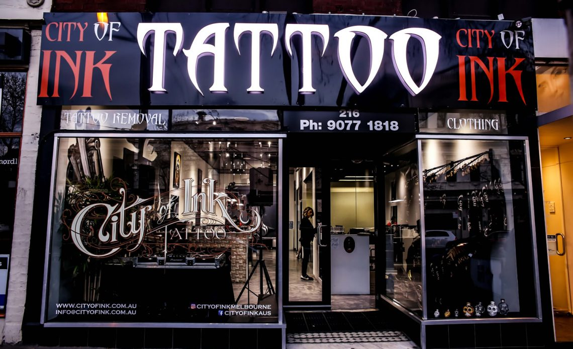 Tattoo Shops Melbourne